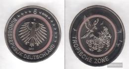 FRD (FR.Germany) 2017 G Stgl./unzirkuliert Reprint: 450.000 Polymerring: Red Stgl./unzirkuliert 2017 5 Euro Tropical Zon - Germany
