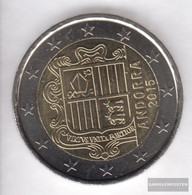 Andorra And 9 2015 Stgl./unzirkuliert Stgl./unzirkuliert 2015 2 Euro Kursmünze - Andorra