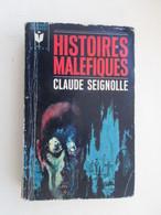 SF001 : LIVRE FORMAT POCHE MARABOUT FANTASTIQUE : N°G23  HISTOIRES MALEFIQUES Par CL SEIGNOLLE - Fantastici