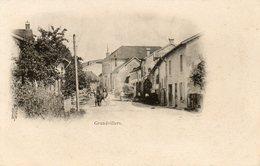 CPA - GRANDVILLERS (88) - Aspect De La Rue Principale En 1900 - Otros Municipios