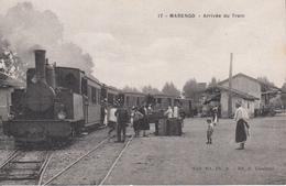 CPA - Africa - ALGERIE - MARENGO - Arrivee Du Train - Altre Città