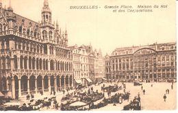 Bruxelles - CPA - Brussel - Grand'Place, Maison Du Roi Et Des Corporations - Marktpleinen, Pleinen