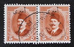 SURCHARGES 1922/23 - PAIRE OBLITEREE - YT 31 - Service