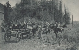 AK Französische Flüchtlinge Réfugié Francais WWI Weltkrieg Militär Militaria Guerre Militaire France Belgique Elsaß ? - Weltkrieg 1914-18