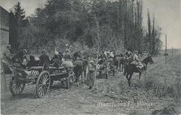 AK Französische Flüchtlinge Réfugié Francais WWI Weltkrieg Militär Militaria Guerre Militaire France Belgique Elsaß ? - Oorlog 1914-18