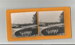 PARIS 91  VINCENNES (94) EXPO 1900 PHOTO STEREOSCOPIQUE CONCOURS DE GYMNASTIQUE COLLECTION FELIX POTIN - Photos Stéréoscopiques