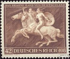 Deutsches Reich 780 (kompl.Ausg.) Mit Falz 1941 Das Braune Band - Deutschland