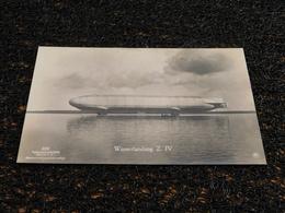Zeppelin, Wasserlandung Z IV (M5) - Dirigeables