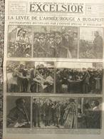 EXCELSIOR (16 Mai 1919) La Levée De L'Armée Rouge - Négociations De La Paix - Concours Des Livres - Altri