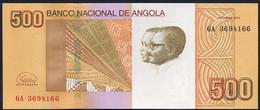 ANGOLA : 500 Kwanzas - 2012 - UNC - Angola