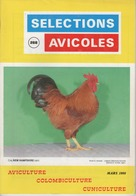 SELECTIONS AVICOLES AVICULTURE COLOMBICULTURE CUNICULTURE MARS 1988 N° 268 - Animals