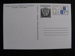 TAAF: TB Entier Postal N° 2 - CP, Neuf . - Entiers Postaux