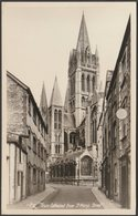 Truro Cathedral From St Mary's Street, Cornwall, 1964 - Penpol Picturecards RP Postcard - Other