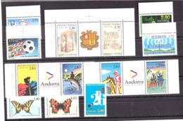 Andorre - 1994 - Complet Neuf ** - N° 441 à 453 - French Andorra