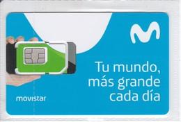 GSMT-256 TARJETA GSM-SIM DE MOVISTAR  CONTRATO    (NUEVA-MINT) - Espagne