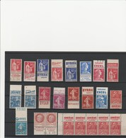 FRANCE  TIMBRES PUBLICITAIRES  MAJORITE MNH** - Advertising