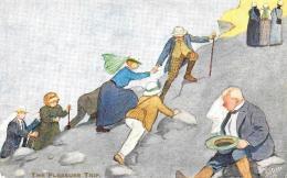 [DC12015] CPA - HUMOR IN EGYPT - THE PLEASURE TRIP - OILETTE 9631 - Non Viaggiata - Old Postcard - Humor
