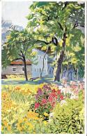 [DC12016] CPA - OTTO BAURIEDL - BAUERNGARTL - Non Viaggiata - Old Postcard - Illustratori & Fotografie