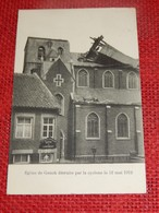GENK - GENCK -   Eglise De Genck  Détruite Par Le Cyclone Le 12 Mai 1912 - Genk