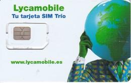 TARJETA GSM - SIM DE LYCAMOBILE  (CHIP CON CELO) - Espagne