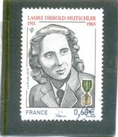 2015 FRANCE Y & T N° 4985 ( O ) Laure Diebold - France