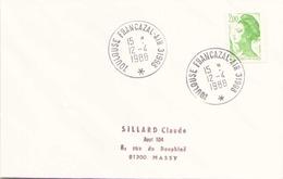 Enveloppe Du 12 Avril 1988 De Toulouse Francazal Air Pour Massy - Militärstempel Ab 1900 (ausser Kriegszeiten)