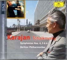 CD NEUF - KARAJAN - TCHAIKOVSKY Symp.4,5,6   - Double CD - Classical