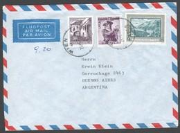 """Österreich 1973: Luftpostbrief """"Wien- Buenos Aires"""" MF Mit Trachten V.29.5.1973 - Posta Aerea"""