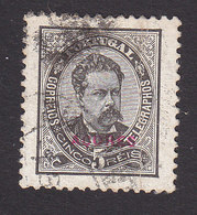 Azores, Scott #58, Used, King Luiz Overprinted, Issued 1882 - Azores