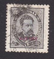 Azores, Scott #58, Used, King Luiz Overprinted, Issued 1882 - Açores