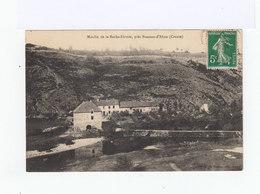 Moulin De La Roche Etroite, Près Busseau D'Ahun. Creuse. (2912) - France