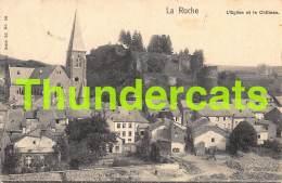 CPA  LAROCHE LA ROCHE L'EGLISE  ET LE CHATEAU NELS SERIE 26 NO 50 - La-Roche-en-Ardenne