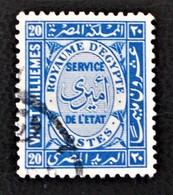SERVICES 1936 - OBLITERES - YT 44 - Service