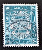 SERVICES 1936 - OBLITERES - YT 46 - Service