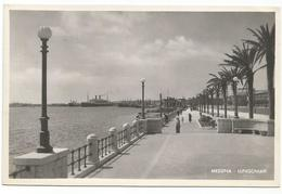 X2544 Messina - Lungomare - Panorama - Navi Ships Bateaux / Non Viaggiata - Messina