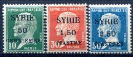 Syrie                    119/121  * - Syria (1919-1945)