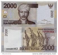 INDONESIA        2000 Rupiah      P-148a    2009/2009   UNC - Indonesia
