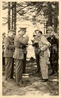 Photo Postcard / ROYALTY / Belgium / Belgique / Roi Baudouin / Koning Boudewijn / Camp D'Elsenborn / 1957 - Elsenborn (Kamp)