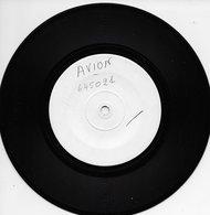 """Avion 45t. SP TEST-PRESSING """"titres Non Identifiés"""" - Dance, Techno & House"""