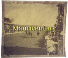 Photo ,  ILE MAURICE , MAURITIUS , 8 X 8 Cm ,  Courses , 1940 - Places