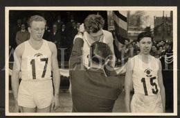 Photo Postcard / ROYALTY / Belgium / Belgique / Roi Baudouin / Koning Boudewijn / Cross Des Nations / Waregem / 1957 - Waregem