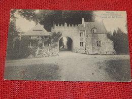 BORNEM -  Bornhem  -  Ingang Van Het Kasteel - L'entrée Du Château - Bornem