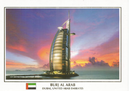 DUBAI. Burj Khalifa, The World's Tallest Tower 828 M. Carte Postale Neuve Non Circulée - United Arab Emirates