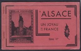 Carnet 60 Timbres Vignettes L' Alsace Un Joyau De La France Club Vosgien Barr Mutzig Mulhouse .... - Tourisme (Vignettes)