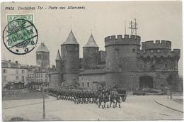 57 METZ Porte Des Allemands Défilé Militaires - Metz
