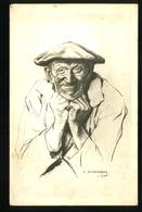 Têtes De Bretagne 10 4e  Série Jean Scherbeck - Bretagne