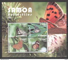 Samoa 2015 Yvertn° Bloc 96 *** MNH Cote 160 Euro Faune Papillons Vlinders Butterflies - Samoa