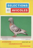 SELECTIONS AVICOLES AVICULTURE COLOMBICULTURE CUNICULTURE JUILLET-AOUT 1988 N° 271 - Animals