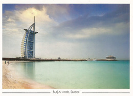 DUBAI. Burj Khalifa, The World's Tallest Tower 828 M. Carte Postale Neuve Non Circulée - Emirats Arabes Unis