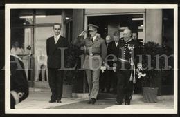 Photo Postcard / ROYALTY / Belgium / Belgique / Roi Baudouin / Koning Boudewijn / Sint-Niklaas / Burgemeester / 1956 - Sint-Niklaas
